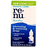 Bausch & Lomb ReNu MultiPlus Lubricating and Rewetting Drops 0.27 oz (Pack of 3)