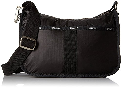 LeSportsac Essential Hobo, True Black by LeSportsac