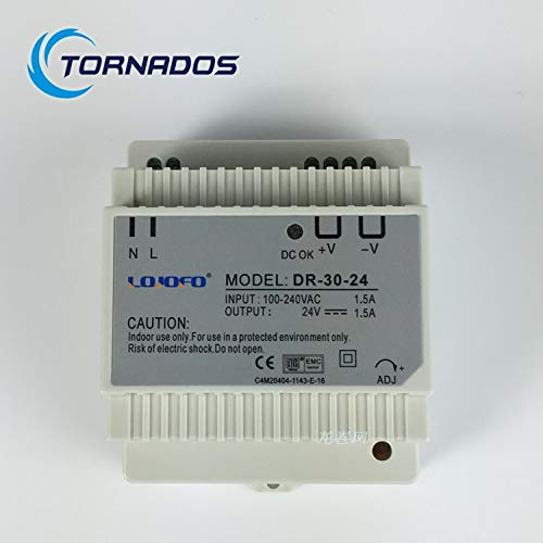 Utini DR-30-5 Din Rail Switching Power Supply 15W 5V DC 3A Output