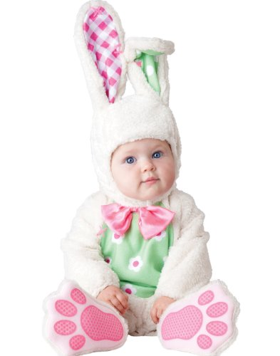 InCharacter Baby's Baby Bunny Costume, White, -