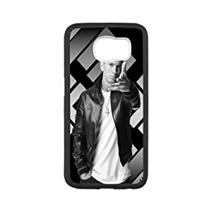 Custom Cover Case Fashion Eminem Time For Samsung Galaxy S6 SXSWB988837