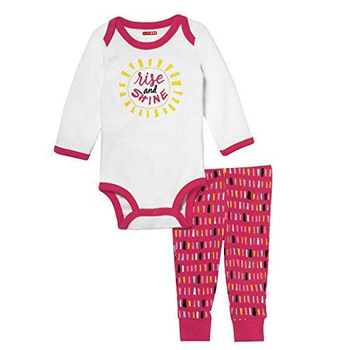 - Skip Hop Baby Says Long Sleeve Bodysuit & Pant Set, Rise/Shine, 3M