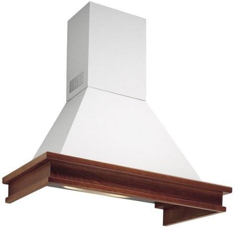Falmec-Campana de ángulo tiempo antiguo acabado blanco con estructura relieve 100 cm, con potencia 600m3/h: Amazon.es: Hogar