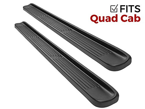(Ionic Factory Style (fits) 2015-2018 Dodge Ram Quad Cab Only Running Boards Side Steps (3.80071E+10))
