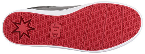 DC Men's Trase, Black/Red/White, 8.5 D US