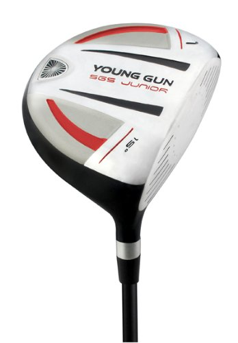 Young Gun SGS Junior Golf Club 15° Driver Red Ages 9-11 RH Graphite Shaft, Outdoor Stuffs