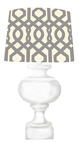 Amazon.com: Resultó madera lámpara de mesa con Bombilla CFL ...