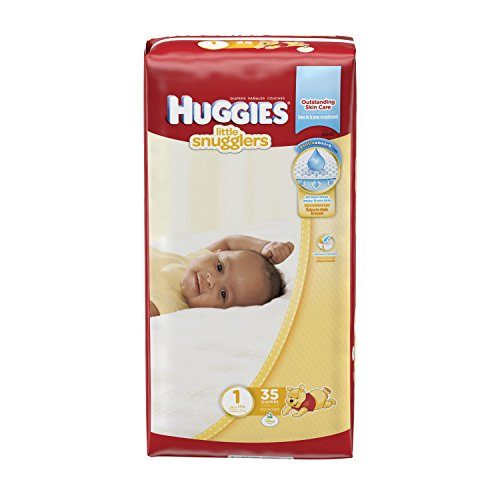 Huggies Little Snugglers Diapers - Size 1 - 35 ct