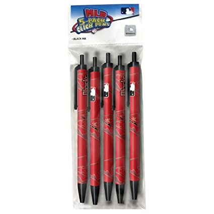 PSG Pro Specialties Group MLB Houston Astros 5-Pack Click Pens