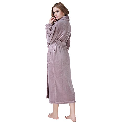 Richie house womens plush soft warm fleece bathrobe robe rh1591 richie house womens plush soft warm fleece bathrobe sciox Image collections