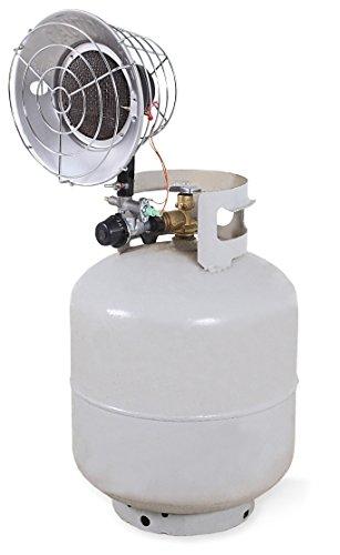 Mi-T-M Propane Radiant Heater, Match Light Ignition, 3 Heat Settings