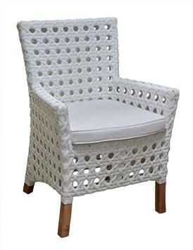 East at Main Kentucky Outdoor Arm Chair w Sunbrella Cushion, 25 x 25 x 35