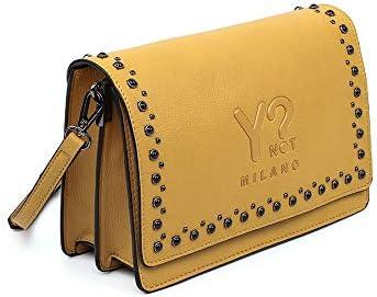 YNOT Flap Bag M Mustard
