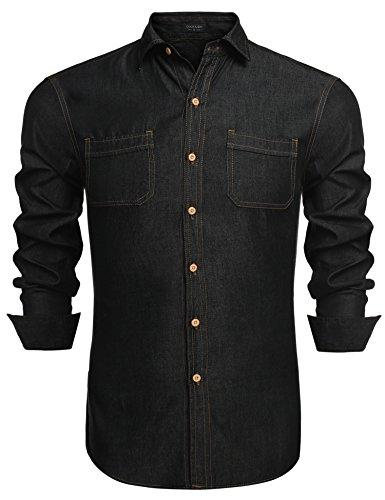 Coofandy Men's Fashion Dress Shirt Long  - Long Sleeve Fashion Dress Shirt Shopping Results