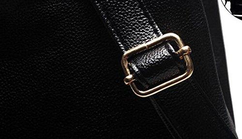 nere Tinyell le Mini donne zaino per impermeabile casual in pelle borse moda xTqPxCwO
