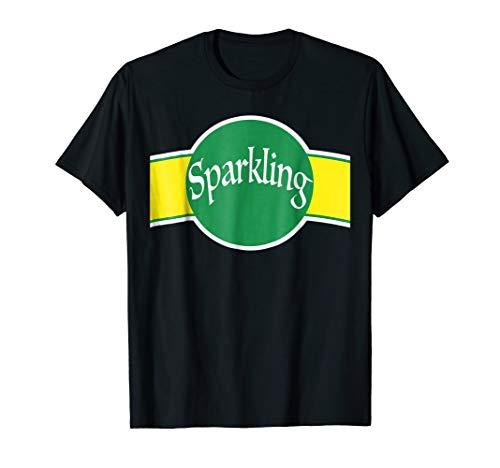 Sparkling Water Bottle Halloween Costume T-Shirt Seltzer -