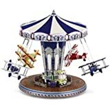 Mr. Christmas World's Fair Animated Musical Platinum Edition Biplane Ride #79765