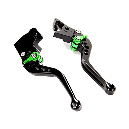 Adjustable Short Brake Clutch Levers for Kawasaki Z900/Z650 2017-2019, VERSYS 1000 2015-2019, NINJA 650R/ER-6F 2017-2019