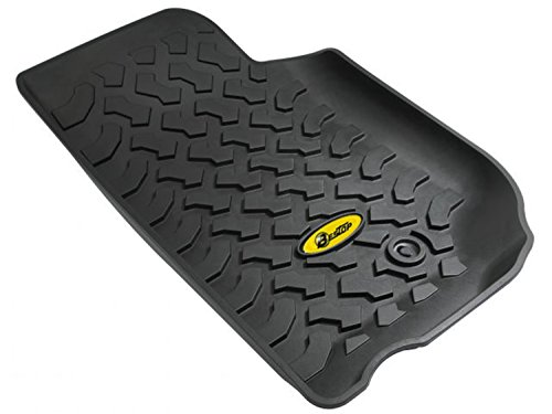 Bestop Jeep Wrangler Door - Bestop 51500-01 Front Pair of Floor Mats for 2007-2013 Wrangler 2-Door & 4-Door