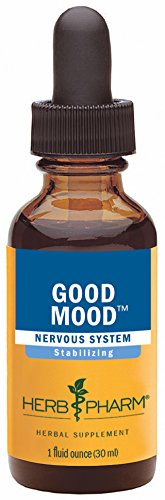 Herb Pharm Good Mood Herbal Formula with St. John's Wort for Healthy Emotional Balance – 1 Ounce