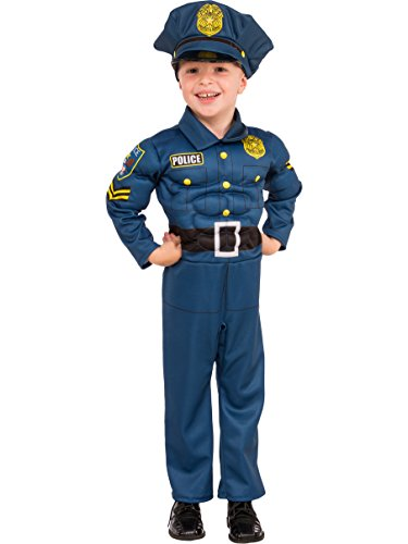Rubies Costume Child's Top Cop Costume