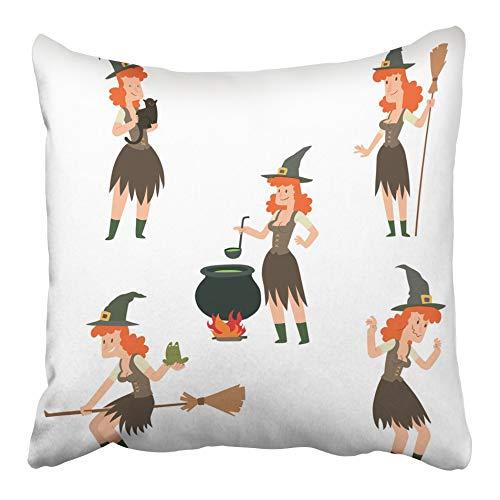Emvency Decorative Throw Pillow Case Cushion Cover Cartoon