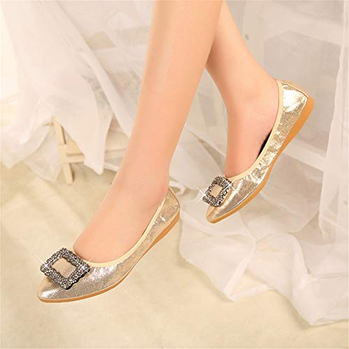 shoes slip shallow travel EU FLYRCX shoes collapsible Women's shoes 45 nbsp; nbsp;comfortable flat shoes non ballet shoes portable nbsp; maternity ZqzqxpwI
