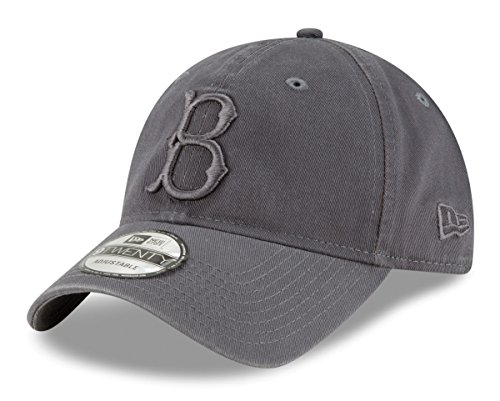 Era Dodgers New Brooklyn (New Era Brooklyn Dodgers MLB 9Twenty Cooperstown Classic Tonal Graphite Hat)
