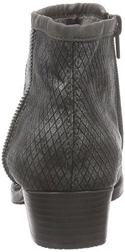 Rieker76689 - botas Mujer Gris - Grau (fumo/grau/granit / 46)