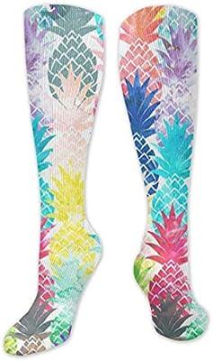 NA Beauty Ananas Unisex Crew Socken Short Sports Stocking