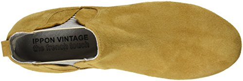 Stivali Chelsea Vintage Ippon Damen Patch-flyboat Jaune (safran)