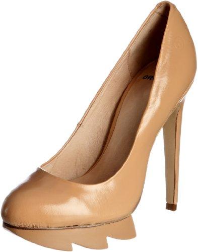 Bronx BX 300-808C14 73808-C - Zapatos de vestir de cuero para mujer Rosa (Pink (nude 14))