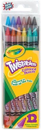 crayola 12 ct twistables colored pencils - Crayola Colored Pencils Twistables
