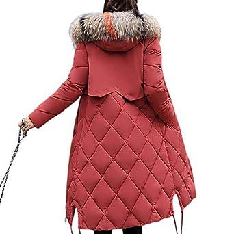 63b143c85f06 FidgetGear Women Fashion Long Type Hooded Coat Thicken Cotton Casual ...