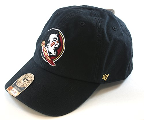 ('47 NCAA Florida State Seminoles Franchise Fitted Hat, Black,)