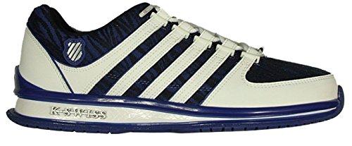 K-Swiss Men's Rinzler Trainer Low-Top Sneakers Mazarine Blue-White pTmR0b0L