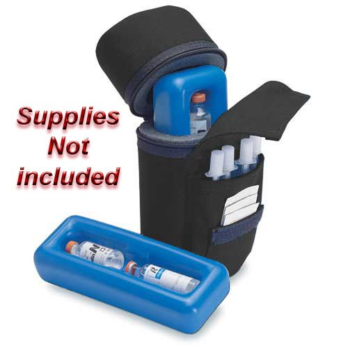 Medicool Insulin Protector Diabetic Insulin Carry Case Color Black