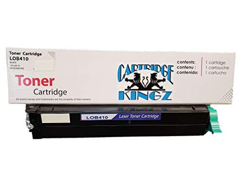 - Cartridge Kingz B410 43979101 High Yield Toner for OKI B Series B410 B410dn B420dn B430d B430dn MB460 MB470 MB480