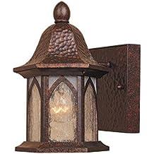 "Designers Fountain 20601-BAC Berkshire 5"" Wall Lantern"