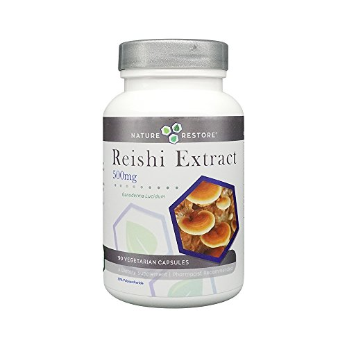 Reishi Mushroom Extract Supplement, Standardized to 30% Polysaccharides, 90 Capsules, Manufactured in USA, Non-GMO & Gluten Free, (Ganoderma Lucidum) (Reishi Mushroom Supplement)