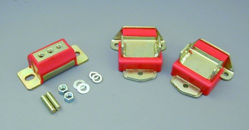 (Prothane 7-1901 Red Motor and Transmission Mount Kit)