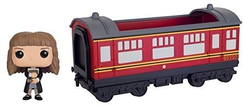 POP! Rides - Harry Potter Hogwarts Express Car & Hermione