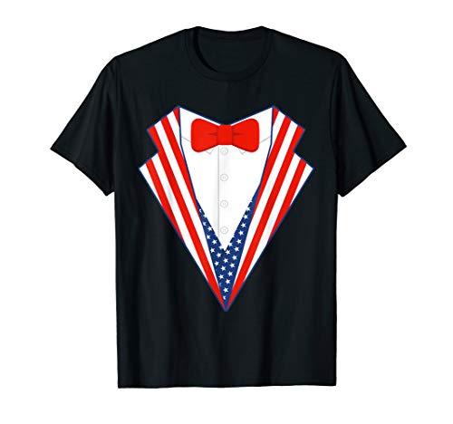 4th Of July USA Tuxedo Shirt | Cute