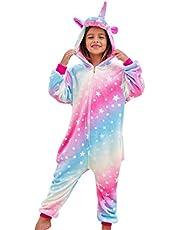 Meisjes Zachte Eenhoorn Slaappakken Pyjama Eenhoorn Nachtkleding voor Kinderen
