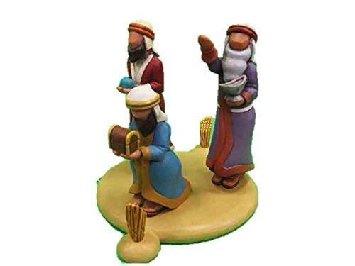 - Demdaco Soon Would Be There 3 Kings Wisemen Nativity by Rhett Johnson