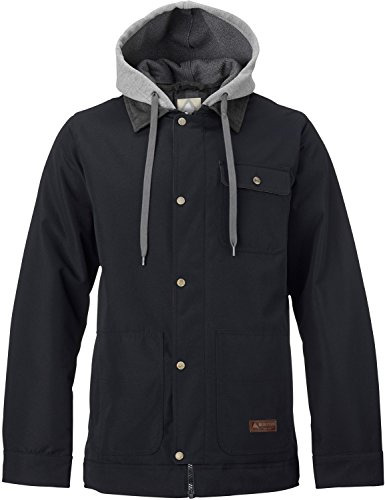 Burton Mens Dunmore Jacket, True Black, Large