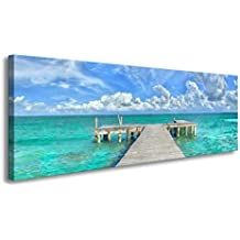 youkuart canvas prints wall art Blue sea water Canvas Print Paintings for Wall and Home decor xm022