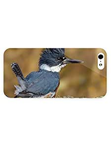 3d Full Wrap Case for iPhone 6 4.7 Animal Belted Kingfisher