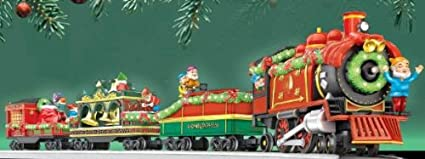 Lionel Christmas Train.Amazon Com Lionel Holiday Christmas Train G Gauge Toys