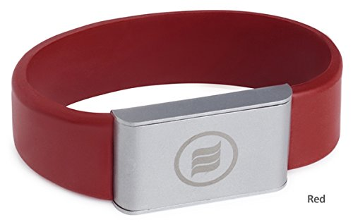 memonizerBODY EMF Protection Wrist Band from Memon of Germany (Small, Red)